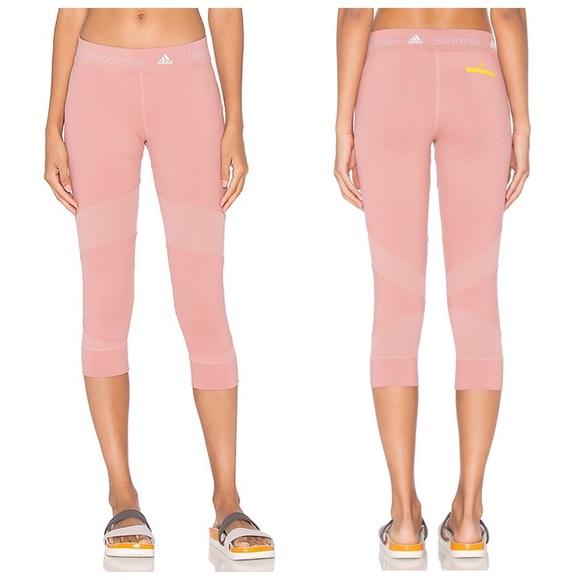 6299f4c89172a Adidas by Stella McCartney Pants - Adidas By Stella Mccartney Run Clima 3/4  Tights